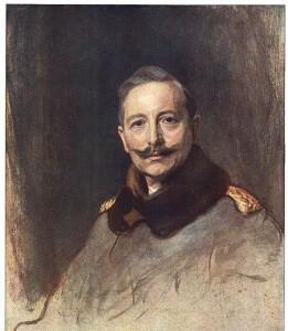 Porträt Wilhelm II